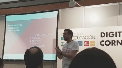 Luis García, director Creativo de Genially